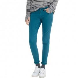 Pantalon Chino Slim SOHO Femme Vert Pépé Jeans