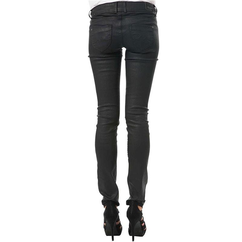 Noir Femme Slim Jean New Brooke Enduit 30 Longueur JeansPan Pépé QdrtCxsh