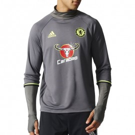 Sweat Chelsea Football Gris Homme Adidas