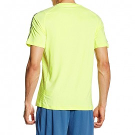 Tee shirt Entrainement COOL365 Jaune Homme Adidas