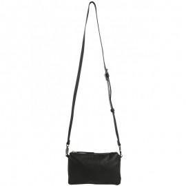 Petit sac à bandoulière CAMPA Noir Femme Pieces