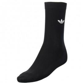 Chaussettes CREW SOCK SOLID 1P Noir Homme/Femme Adidas