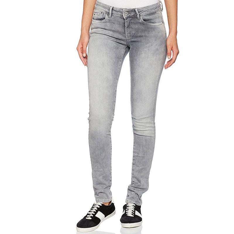 jean skinny pixie gris femme pepe jeans pantalons. Black Bedroom Furniture Sets. Home Design Ideas