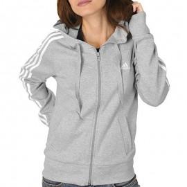 Veste à capuche ESS 3S HOOD Gris Entrainement Femme Adidas