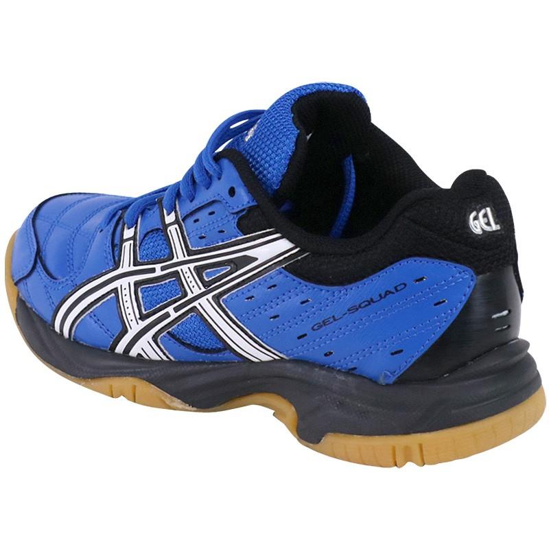 chaussures gel squad bleu handball gar on asics. Black Bedroom Furniture Sets. Home Design Ideas