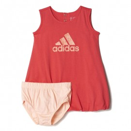 Robe SUM DRESS Rose Bébé Fille Adidas