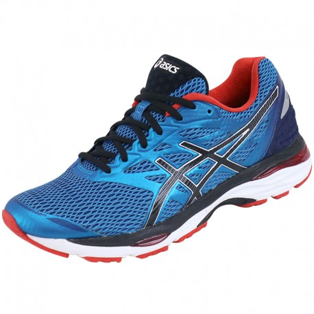 chaussures gel cumulus 18 bleu running homme asics chaussures de. Black Bedroom Furniture Sets. Home Design Ideas