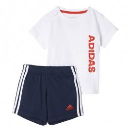 Ensemble SUM SET Blanc Bébé Garçon Adidas