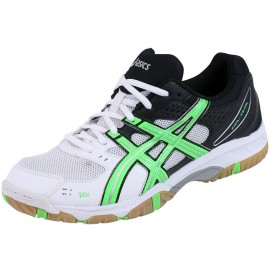 Chaussures Gel Solution Lyte OC Blanc Volley-Ball Homme Asics