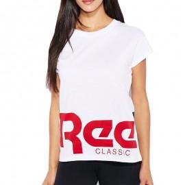 Tee Shirt REE-BOK Blanc Femme Reebok