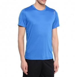 Tee shirt Entrainement PREM TECH Bleu Homme Reebok