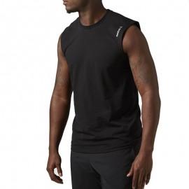 Débardeur Entrainement Noir Homme Reebok