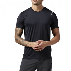 Tee shirt Entrainement COOL Noir Homme Reebok