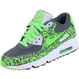 Chaussures Air Max 90 Vert Garçon Nike