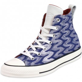 Chaussures CTAS Montante Bleu Femme Converse