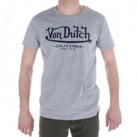 TEE SHIRT CALIFORNIA GRI - Tee shirt Homme Von Dutch