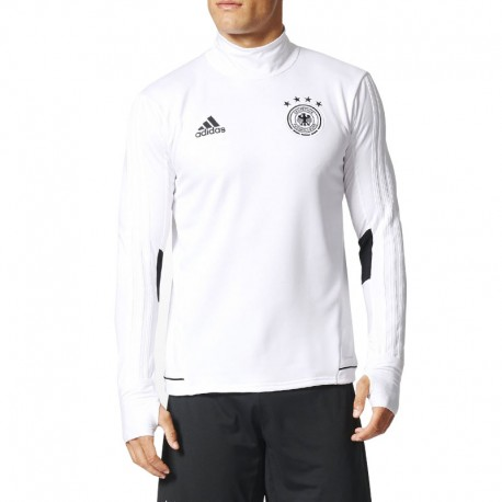 Sweat TRG TOP Allemagne Blanc Football Homme Adidas