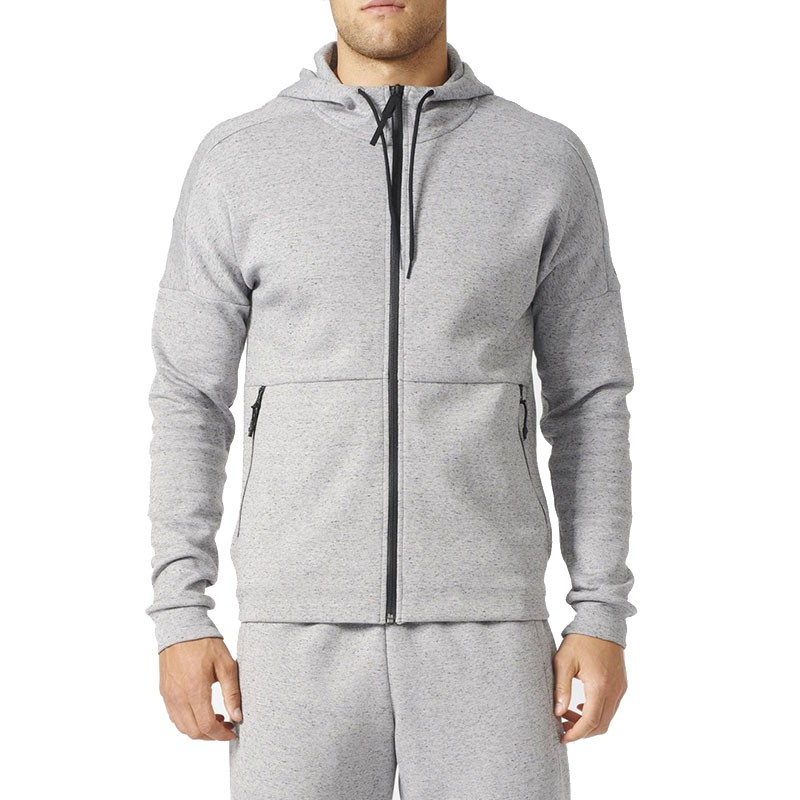 sweat capuche stadium gris homme adidas sweats. Black Bedroom Furniture Sets. Home Design Ideas