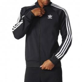 Veste Superstar Tracktop Noir Homme Adidas