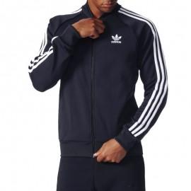 Veste Superstar Tracktop Marine Homme Adidas
