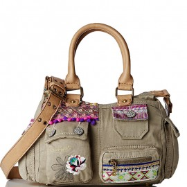 Sac à Bandoulière London Mini Military Luxe Kaki Femme Desigual