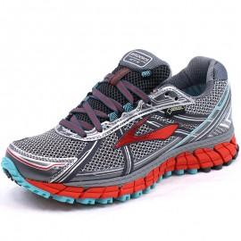 Chaussures Adrenaline ASR 12 GTX Gris Trail Femme Brooks