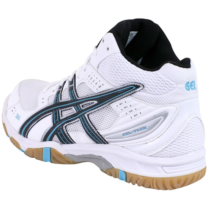 Chaussures Gel Task Montante Blanc Volley Ball Homme Asics Chauss