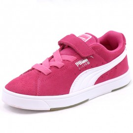 Chaussures Suède S V Rose Fille Puma