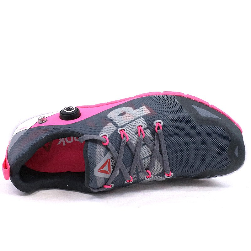 Fusion Femme De Reebok Chaussures R Running Zpump Gris SBInqU5
