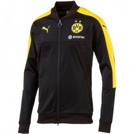 Veste Stadium Borussia Dortmund Noir Football Homme Puma