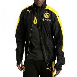 Coupe-vent Stadium Borussia Dortmund Football Noir Homme Puma