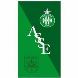 Serviette Forez ASSE Football Vert Managal