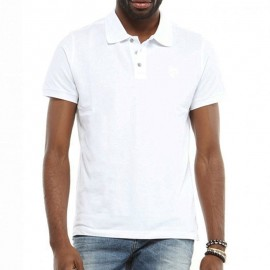 Polo Ariz Cage Blanc Homme Redskins