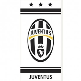 Serviette Juventus de Turin Football Blanc Managal