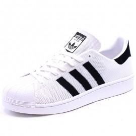 Chaussures Superstar Blanc Homme Adidas