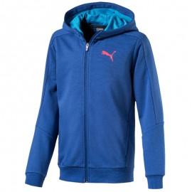 Sweat zippé HOODED SWEAT Bleu Garçon Puma