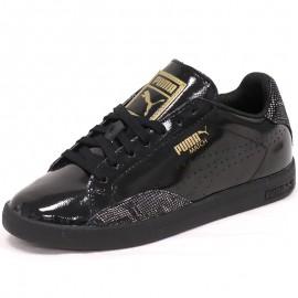 Chaussures Match PNT Snake Noir Femme Puma