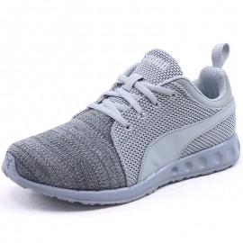 Chaussures Carson Runner Knit EEA Gris Garçon/Homme Puma
