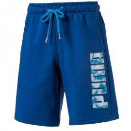 Short Sports Bleu Garçon Puma