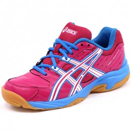 Chaussures Gel Squad Rose Handball Fille Asics