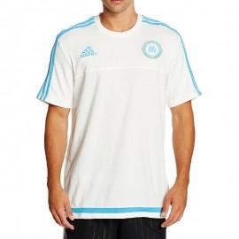 Tee-shirt Olympique de Marseille Blanc Football Homme Adidas