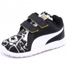 Chaussures ST Trainer Evo Batman Street Noir Garçon Puma