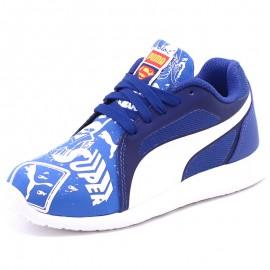 Chaussures ST Trainer Evo Superman Street Bleu Garçon Puma