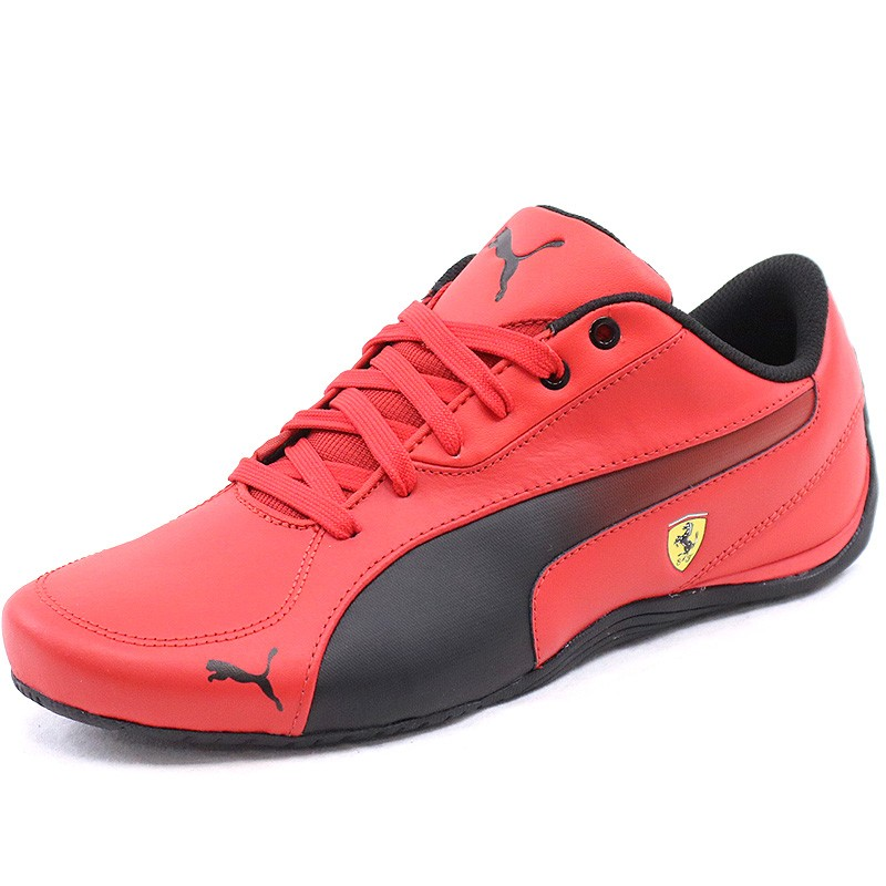 chaussures drift cat 5 ferrari rouge homme puma baskets. Black Bedroom Furniture Sets. Home Design Ideas