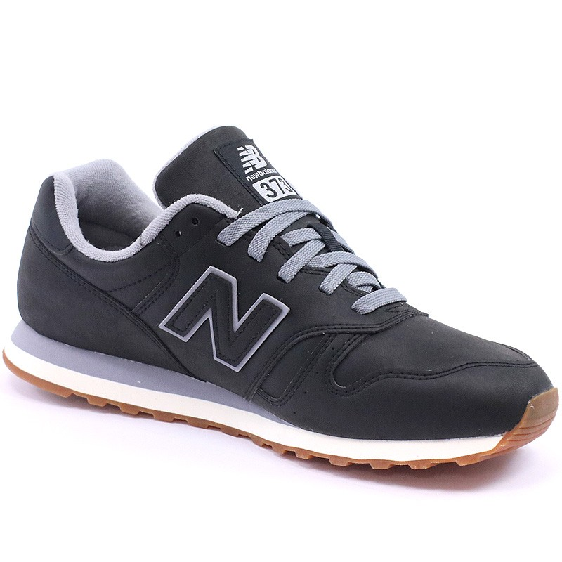 chaussures ml373 noir homme new balance baskets. Black Bedroom Furniture Sets. Home Design Ideas