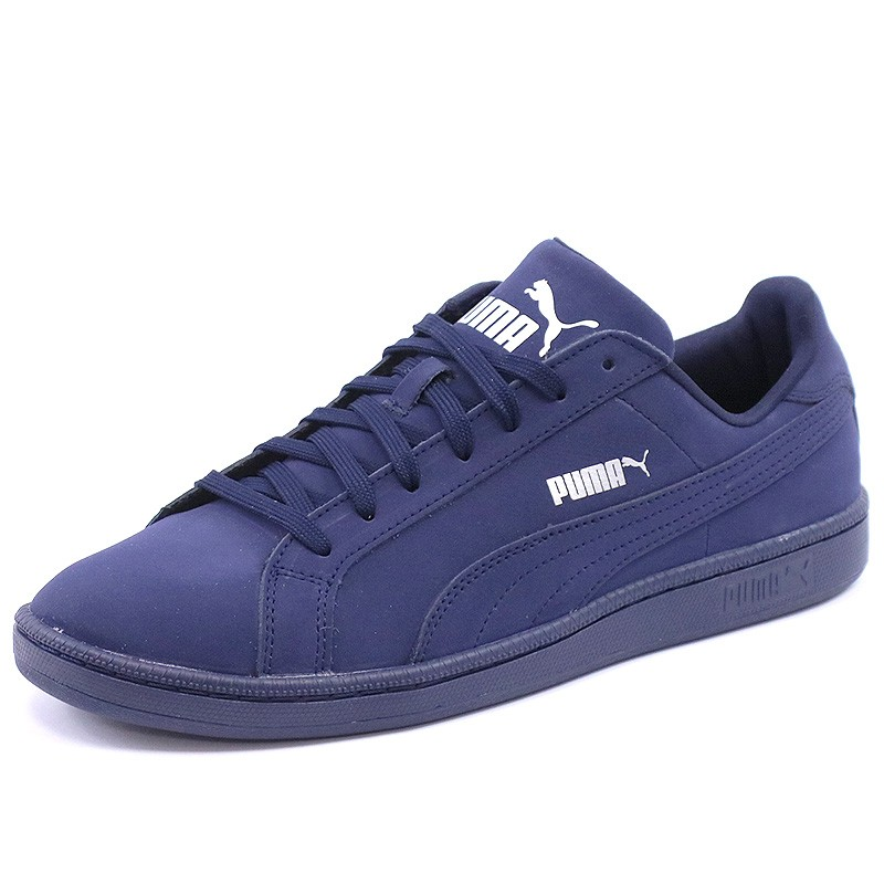 Chaussures Smash Buck Mono Bleu Homme Puma Baskets