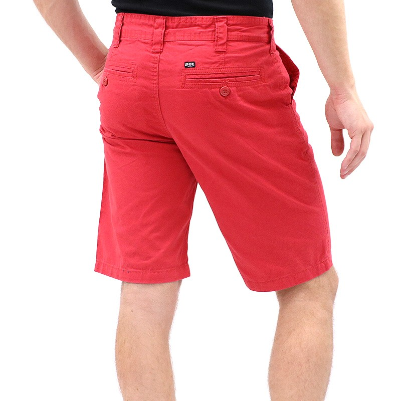 bermuda chino rouge homme kapsule shorts. Black Bedroom Furniture Sets. Home Design Ideas