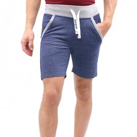 Short TERRY Bleu Homme Waxx