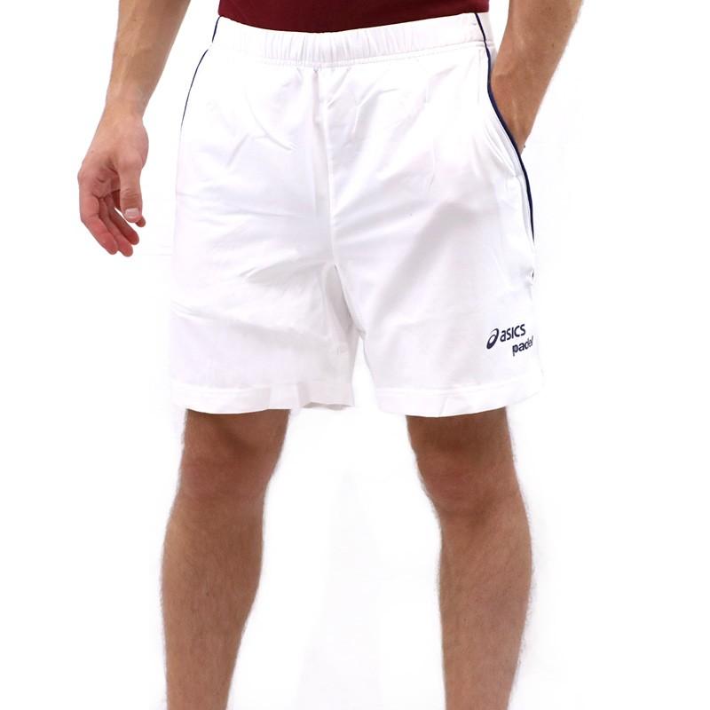 short de padel blanc homme asics shorts. Black Bedroom Furniture Sets. Home Design Ideas
