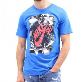 Tee-shirt RIP TEE Bleu Garçon Nike